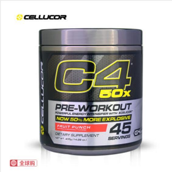 CELLUCOR 细胞肌能 C4 50X双倍聚能氮泵粉 405g